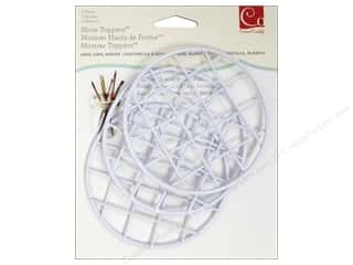 Weekly Specials Pen: Cosmo Cricket Embellishment Show Toppers Grid Lids 3pc White