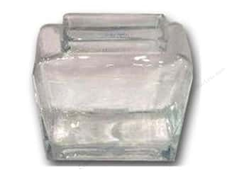 craft & hobbies: Sierra Pacific Crafts Glass Vase Rectangle