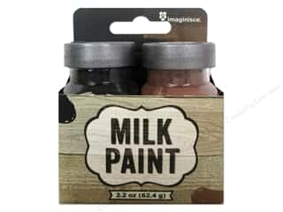 Clearance: Imaginisce Paint Milk Combo Black/Brown