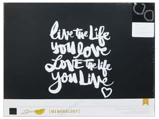 Everything You Love Sale Scrapbooking: American Crafts 3-Ring Album 12 x 12 in. Amy Tangerine Plus One Live Life