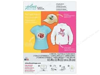 Jolee's Boutique Easy Image Transfer Sheets Specialty Light Fabrics