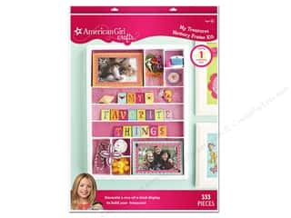 Weekly Specials Leisure Arts Loop-D-Doo Kits: American Girl Kit My Treasure Memory Frame