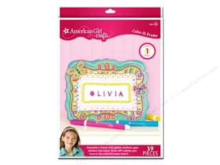 Weekly Specials Stenciling: American Girl Kit Color In Frame