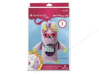 Weekly Specials American Girl Book Kit: American Girl Kit Mini Animal Clip Bunny