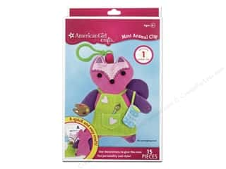 Weekly Specials Halloween Stickers: American Girl Kit Mini Animal Clip Fox