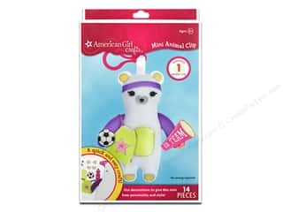 Weekly Specials Halloween Stickers: American Girl Kit Mini Animal Clip Bear