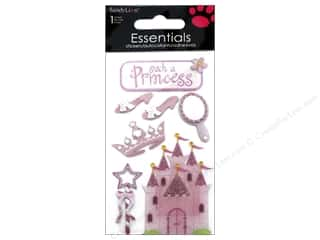 scrapbooking & paper crafts: SandyLion Sticker Essentials Princess
