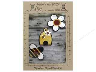 Wooden Spool Designs What's The Buzz Pattern