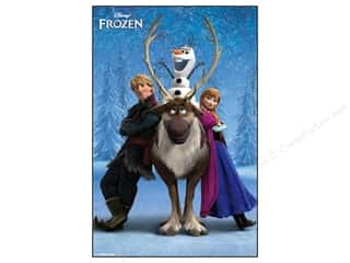 craft & hobbies: SandyLion Poster Disney Frozen Team