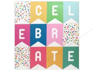 Pebbles Embellishment Birthday Wishes Perforated Banner Celebrate