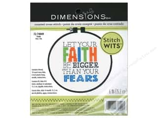 Weekly Specials Pattern: Dimensions Cross Stitch Kit Wits Faith