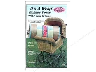 books & patterns: Eazy Peazy It's A Wrap Bolster Cover Pattern