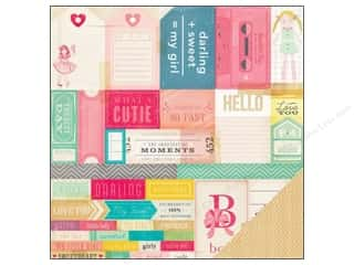 Crate Paper 12 x 12 in. Paper Oh Darling What A Doll