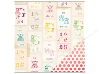 Crate Paper 12 x 12 in. Paper Oh Darling My Girl