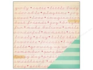 Crate Paper 12 x 12 in. Paper Oh Darling Happy Day