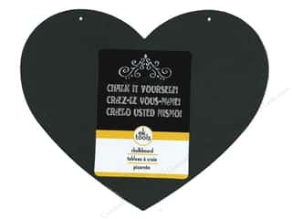 die cuts: EK Decor Die Cut Chalk Board Medium Heart