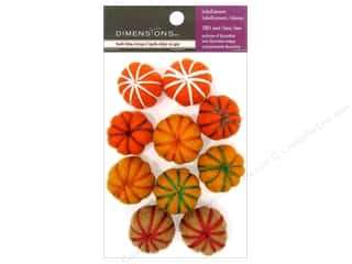 Dimensions: Dimensions 100% Wool Felt Embellishment Embroidered Flat Balls