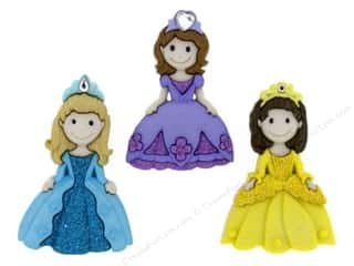 scrapbooking & paper crafts: Jesse James Dress It Up Embellishments Pretty Princesses