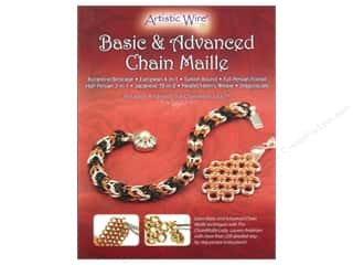 Clearance Artistic Wire Mesh: Artistic Wire Basic & Advanced Chain Maille Book by Lauren Andersen