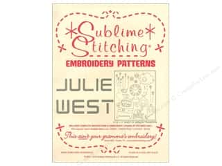 yarn & needlework: Sublime Stitching Embroidery Transfers Julie West
