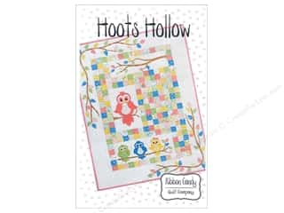Quilt Company, The: Ribbon Candy Quilt Hoots Hollow Pattern