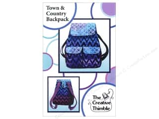 Creative Thimble, The: Creative Thimble Town & Country Backpack Pattern