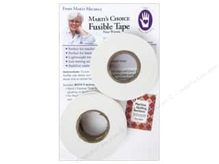 "glues, adhesives & tapes: Marti Michell Fusible Tape 1""x 30yd 2 Rolls"