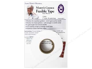 "glues, adhesives & tapes: Marti Michell Fusible Tape 1""x 30yd"