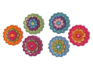 craft & hobbies: Jesse James Dress It Up Embellishments Floral Revolution
