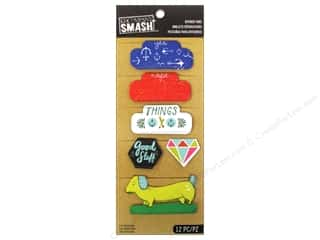 3-D Stickers / Fuzzy Stickers / Foam Stickers: K&Company Smash Divider Tabs