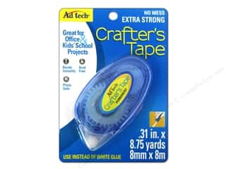 glues, adhesives & tapes: AdTech Crafter's Tape Permanent Glue Runner