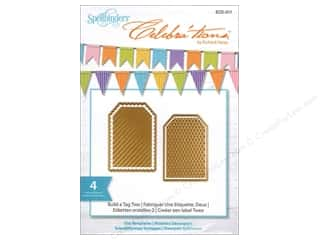 Pattern $2-$4 Clearance : Spellbinders Celebrations Die Build A Tag 2