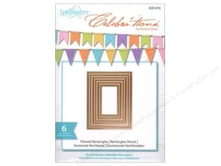 Spellbinders Celebrations Die Pierced Rectangle