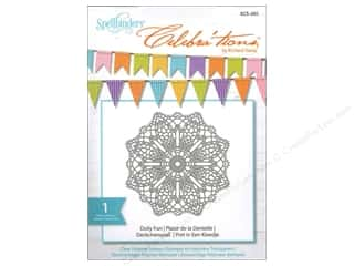 Weekly Specials Crochet: Spellbinders Stamp Celebra'tion Doily Fun