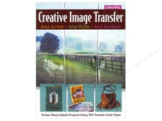C&T Publishing Creative Image Transfer Book by Lesley Riley