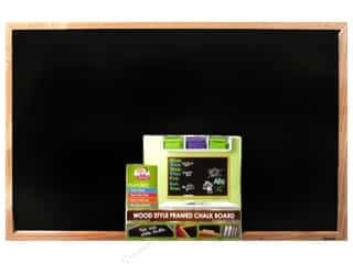 art, school & office: The Board Dudes Chalk Boards Wood Frame 23 x 35 in.