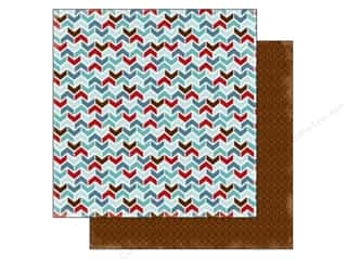 Stock Up Sale Cardstock: Carta Bella 12 x 12 in. Paper All Bundled Up Chevron (25 sheets)