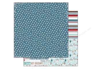Stock Up Sale Cardstock: Carta Bella 12 x 12 in. Paper All Bundled Navy Polka Dots (25 sheets)