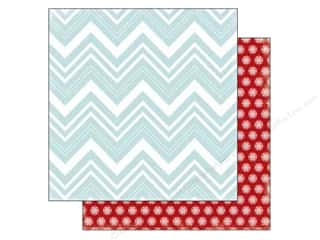 Stock Up Sale Cardstock: Carta Bella 12 x 12 in. Paper All Bundled Large Chevron (25 sheets)