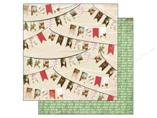Holiday Sale Printed Cardstock: Carta Bella 12 x 12 in. Paper Christmas Time Holiday Banners (25 sheets)