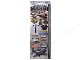 scrapbooking & paper crafts: Paper House Sticker Cardstock United States Air Force