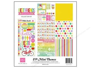 Clearance Echo Park Collection Kit: Echo Park 12 x 12 in. Collection Kit Best Friends Forever