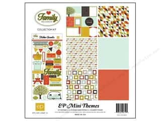 Clearance Echo Park Collection Kit: Echo Park 12 x 12 in. Collection Kit Family Reunion