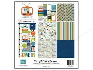 Clearance Echo Park Collection Kit: Echo Park 12 x 12 in. Collection Kit Game On
