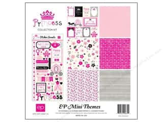 Clearance Echo Park Collection Kit: Echo Park 12 x 12 in. Collection Kit Princess