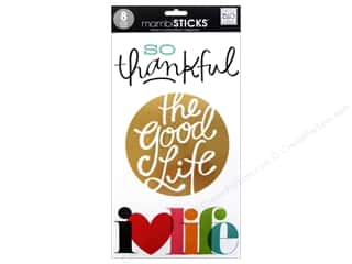 Clearance Me And My Big Ideas Envelopes: Me&My Big Ideas Sticker Big Words So Thankful