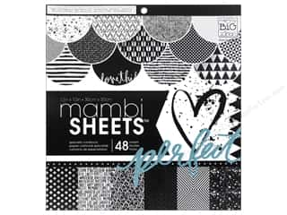 Holiday Sale Designer Papers & Cardstock: Me & My Big Ideas Sheets Cardstock Pad 12 x 12 in. Graphic