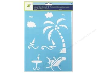 craft & hobbies: Craft Decor Stencil 8 x 10 in. On Holiday