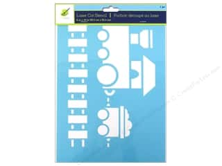 craft & hobbies: Craft Decor Stencil 8 x 10 in. Choo-Choo