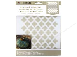 craft & hobbies: Plaid Stencil Handmade Charlotte Moorish Pattern
